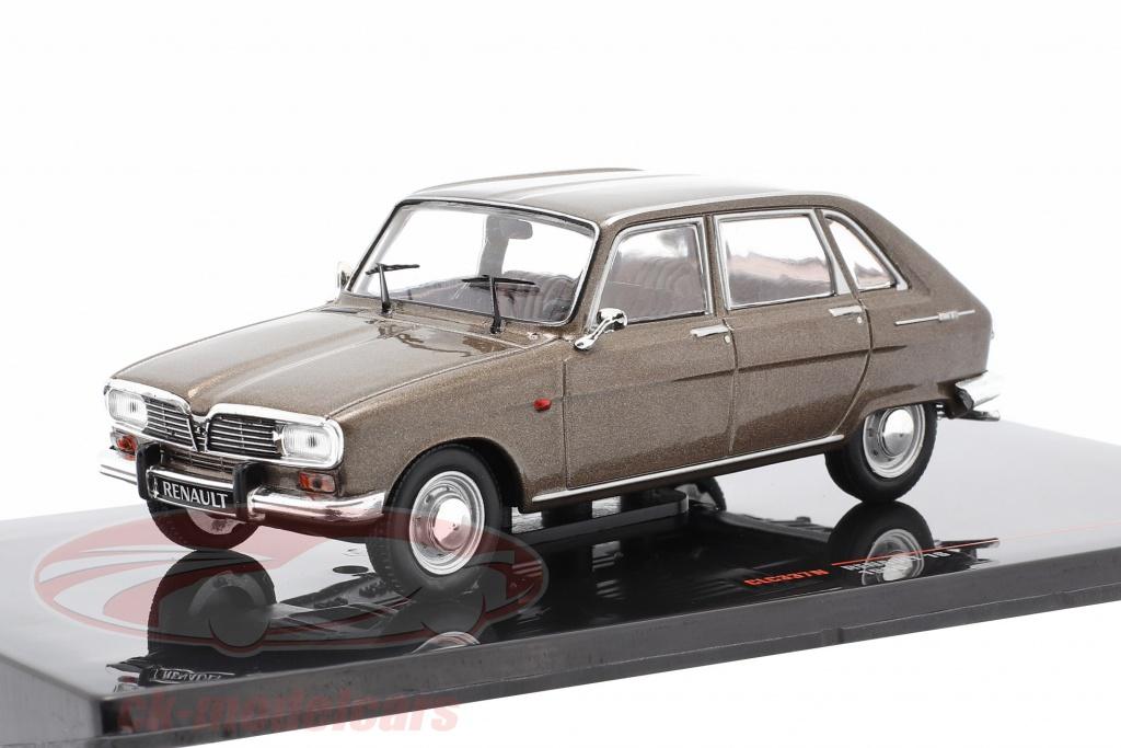 ixo-1-43-renault-16-year-1969-brown-metallic-clc337n/