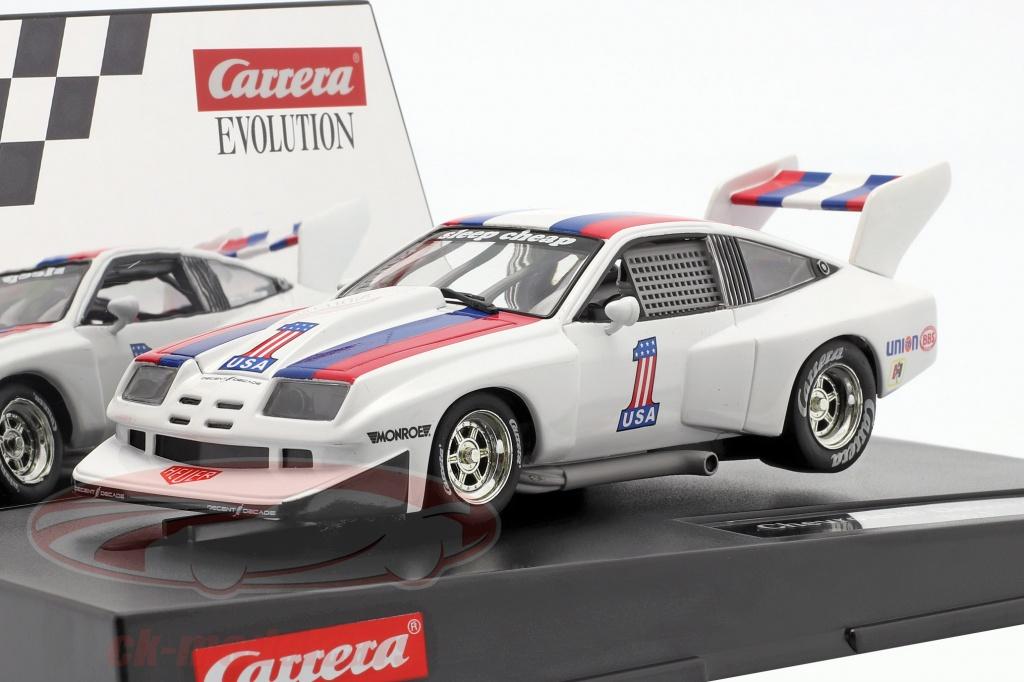 carrera-1-32-slotcar-chevrolet-dekon-monza-no1-hvid-bl-rd-evolution-20027581/
