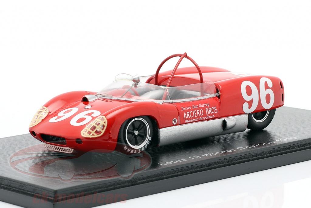 spark-1-43-lotus-19-no96-vincitore-3h-daytona-1962-dan-gurney-43da62/