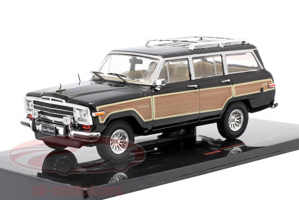 ixo-1-18-jeep-grand-wagoneer-4wd-year-1989-black-wood-look-1-43-clc328n/