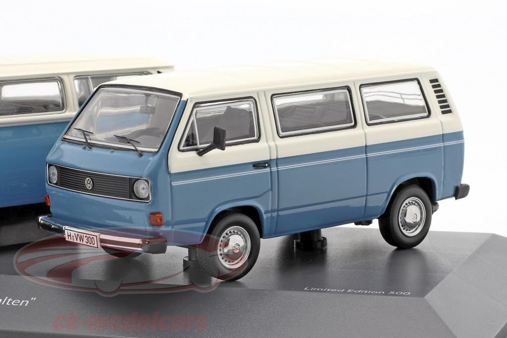 schuco-1-43-3-car-set-volkswagen-vw-transporter-the-air-cooled-blue-white-450374400/