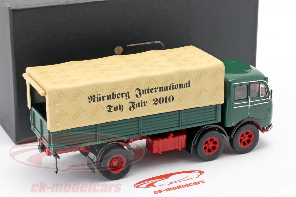 ixo-1-43-mercedes-benz-lp-333-spielwarenmesse-nuernberg-2010-gruen-beige-ixo2010/