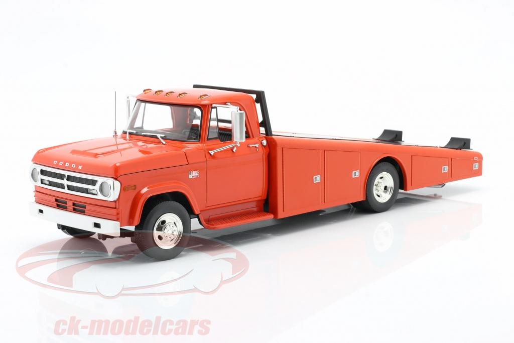 gmp-1-18-dodge-d-300-ramp-truck-year-1970-orange-red-1801900/