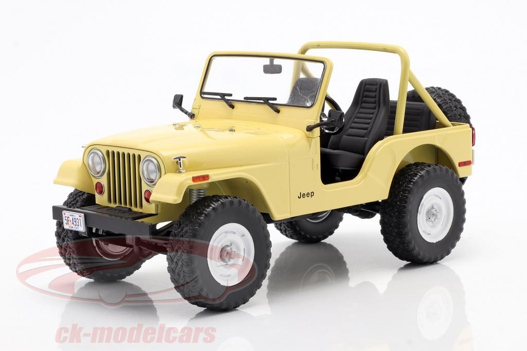 greenlight-1-18-jeep-cj-5-1980-series-de-television-charlies-angels-1976-1981-amarillo-19078/