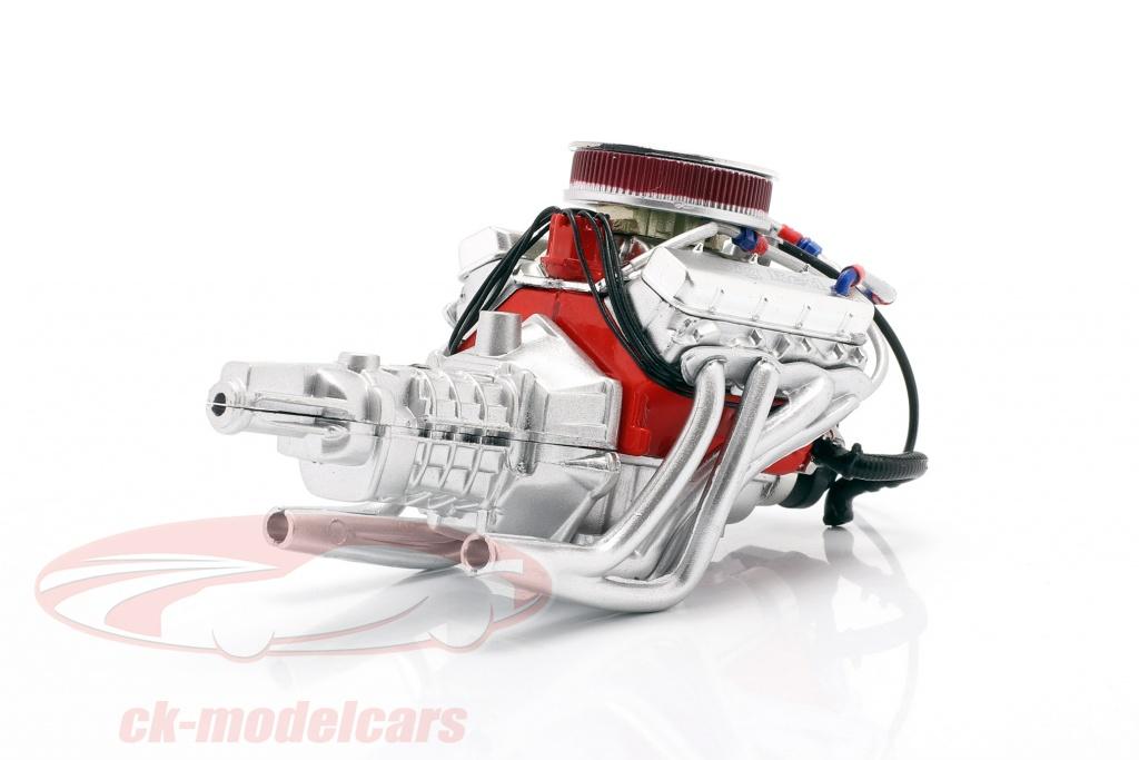 gmp-1-18-chevrolet-camaro-big-red-427-engine-and-transmission-18947/