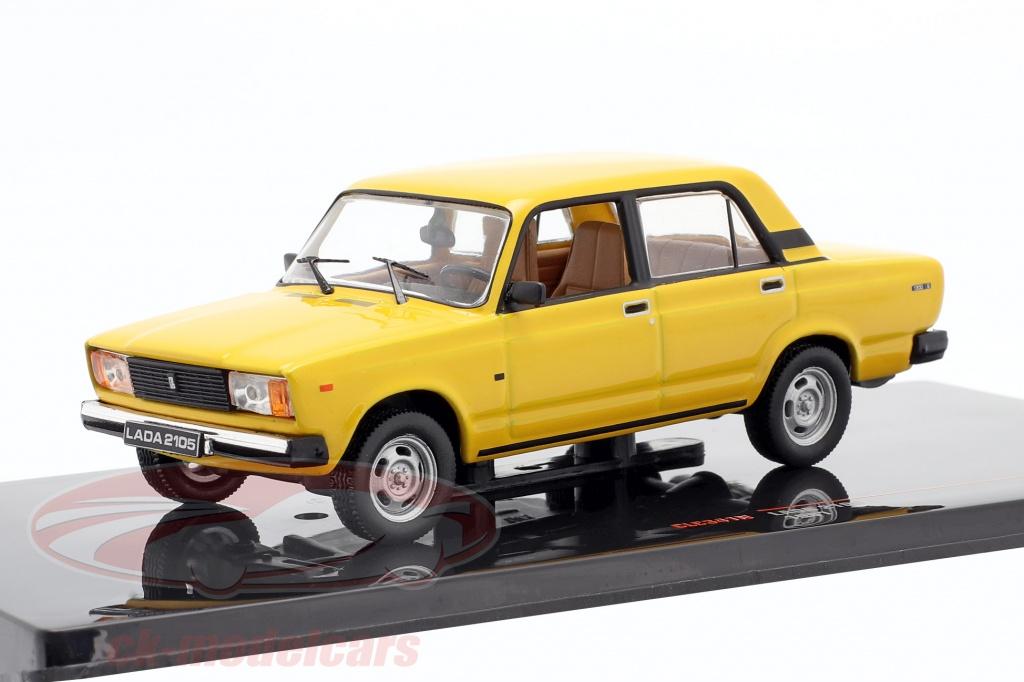 ixo-1-43-lada-2105-anno-di-costruzione-1981-giallo-clc341n/