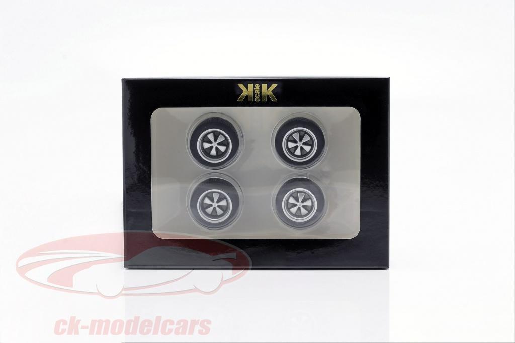 kk-scale-1-18-porsche-pneumatici-e-cerchi-set-fuchsfelge-argento-kkdacc002/