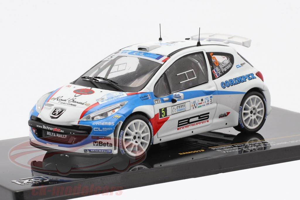 ixo-1-43-peugeot-207-s2000-no5-vinder-tour-de-course-2013-bouffier-panseri-ram557p/