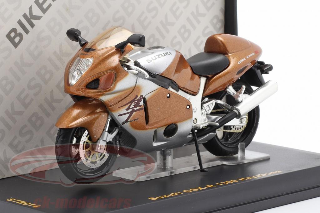 ixo-1-24-suzuki-gsx-r-1300-hayabusa-gold-metallic-stb014/