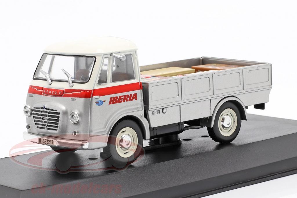 altaya-1-43-fadisa-romeo-2-transporteur-iberia-annee-de-construction-1965-argent-blanc-rouge-magpub002/