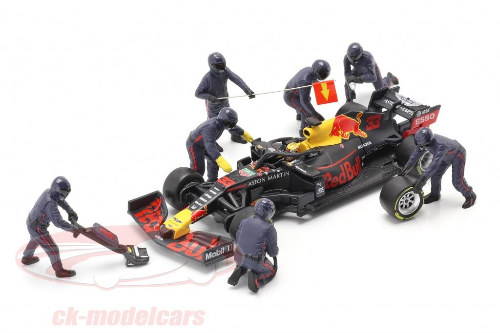 formula-1-pit-equipaggio-personaggi-set-no1-squadra-blu-1-43-american-diorama-ad38384/