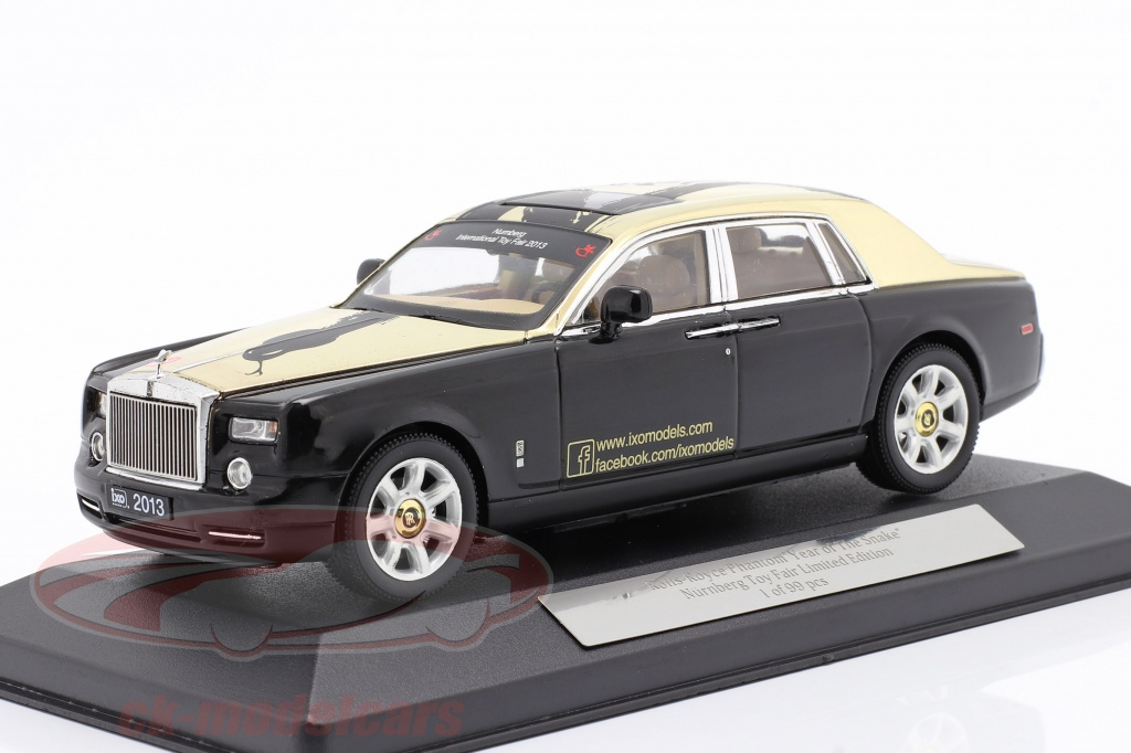 ixo-1-43-rolls-royce-phantom-year-of-the-snake-nuernberg-toyfair-2013-sort-toy-fair-2013/