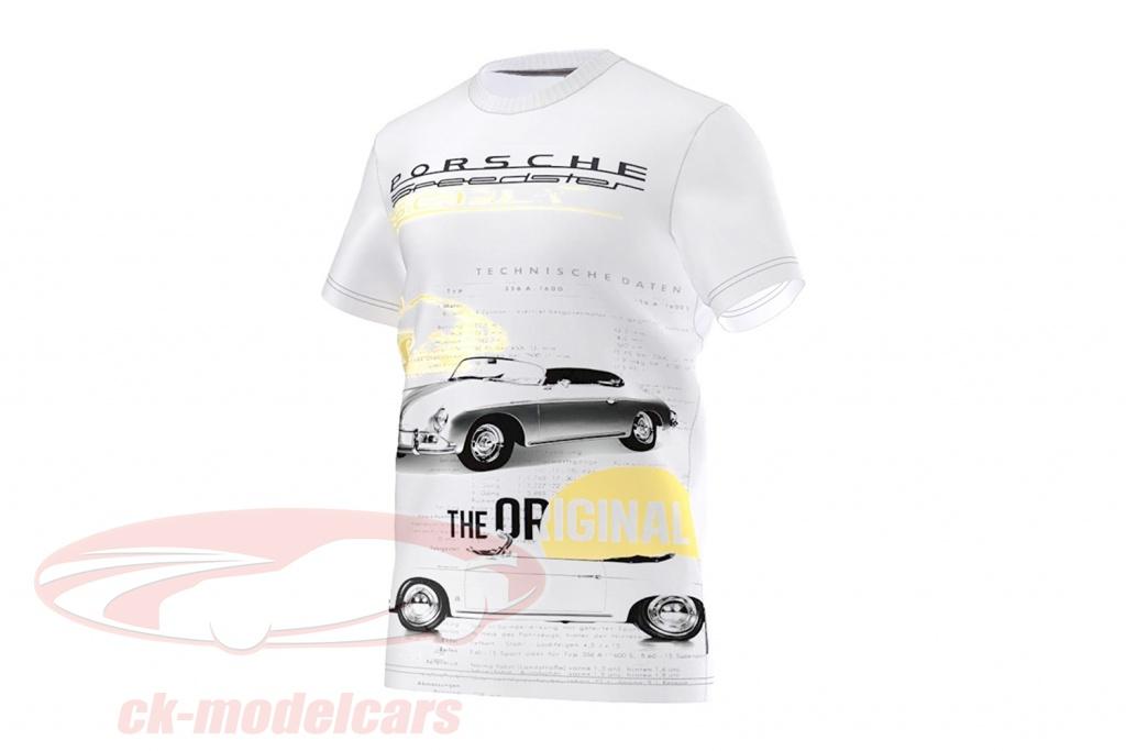 porsche-t-shirt-porsche-speedster-the-original-adidas-weiss-s00363/m/