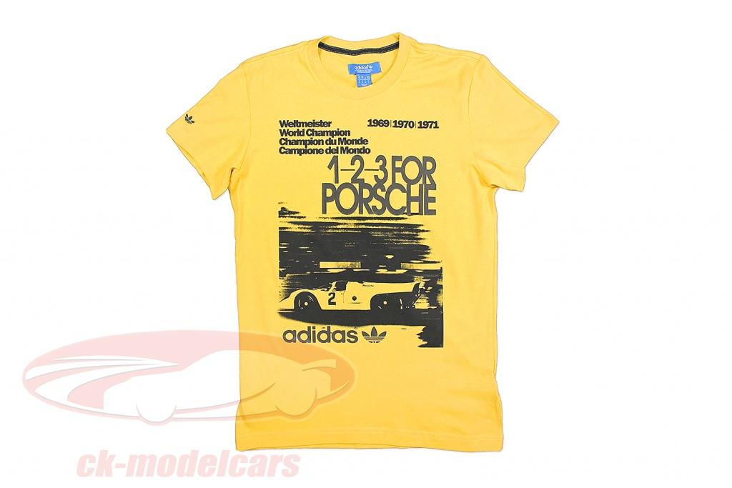 porsche-t-shirt-1-2-3-til-porsche-verdensmester-1969-1971-adidas-gul-s00364/m/