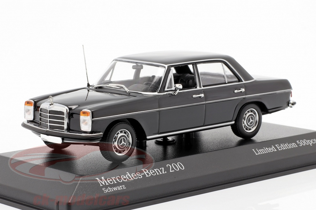 minichamps-1-43-mercedes-benz-200d-w114-115-bygger-1968-sort-943034004/