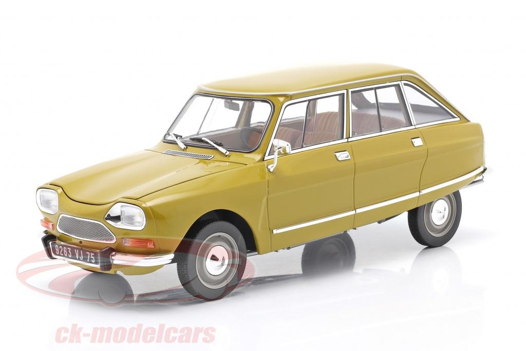 norev-1-18-citroen-ami-8-club-bygger-1969-gylden-gul-181670/