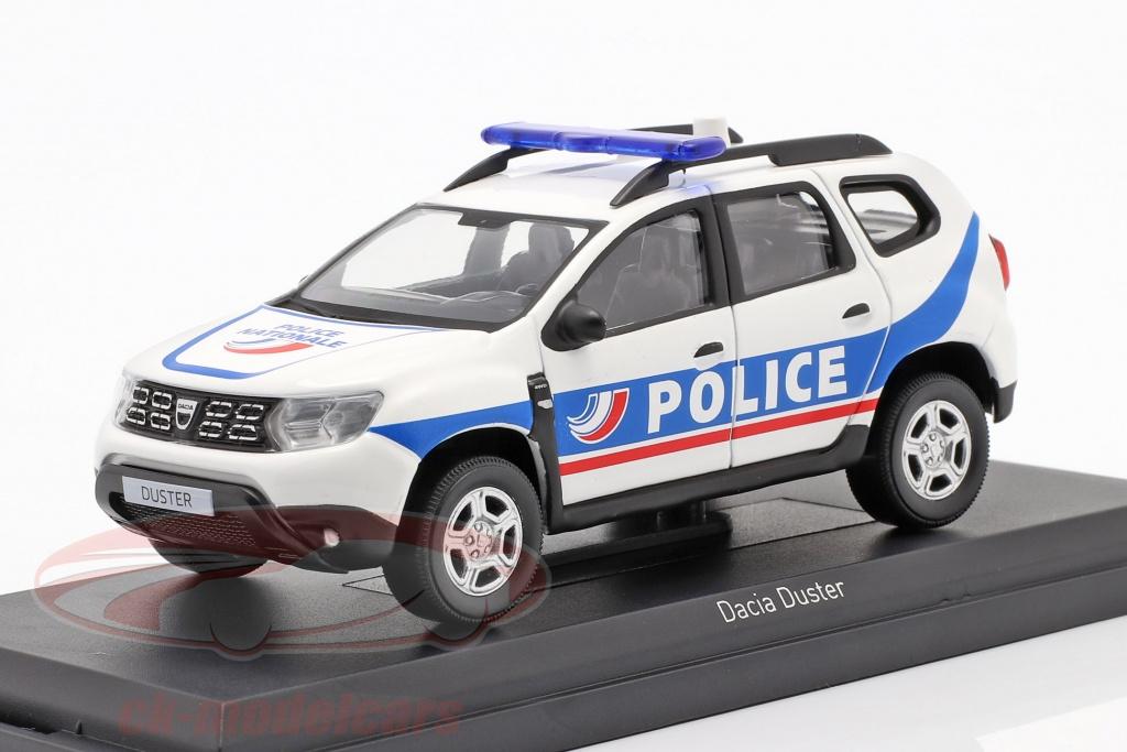 norev-1-43-dacia-duster-police-nationale-2018-hvid-bl-509010/