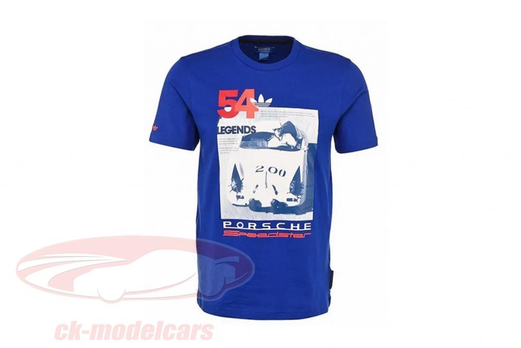 porsche-maglietta-porsche-speedster-asfalto-leggende-adidas-blu-d89191/m/