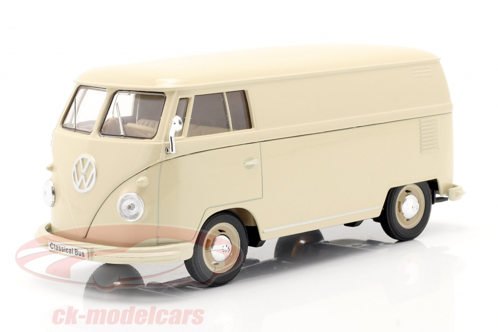 welly-1-24-volkswagen-vw-bulli-t1-van-annee-de-construction-1963-creme-blanc-22095pvcr/