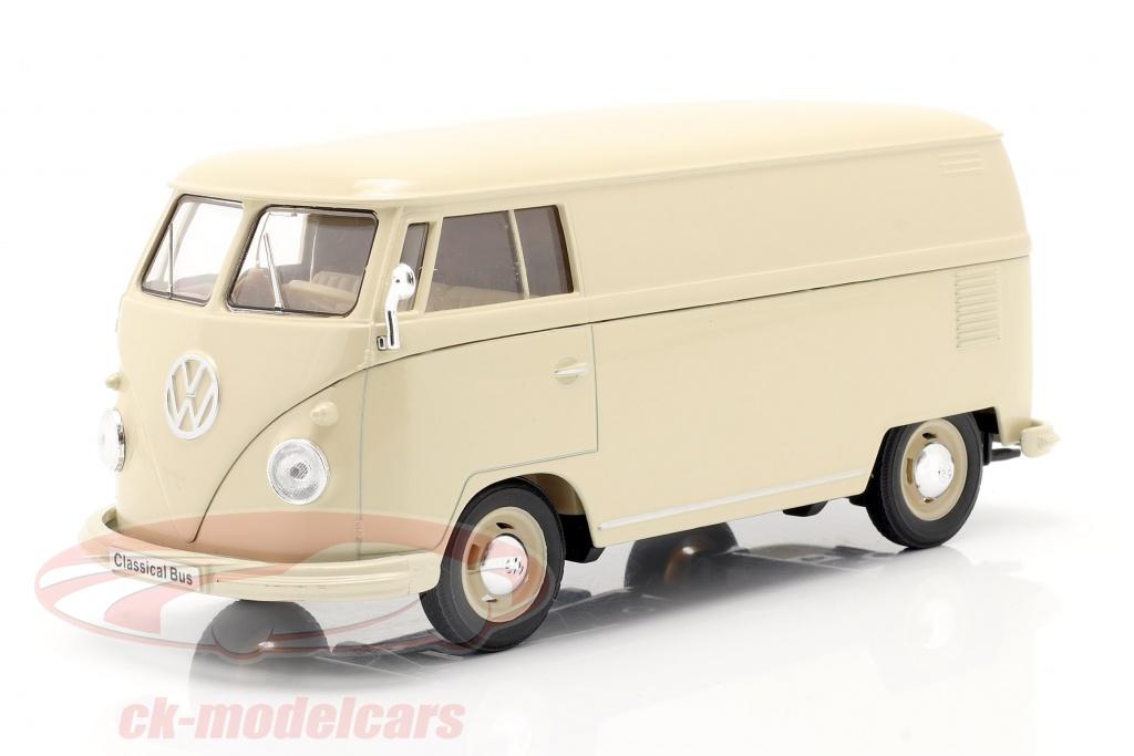 welly-1-24-volkswagen-vw-bulli-t1-van-anno-di-costruzione-1963-crema-bianca-22095pvcr/
