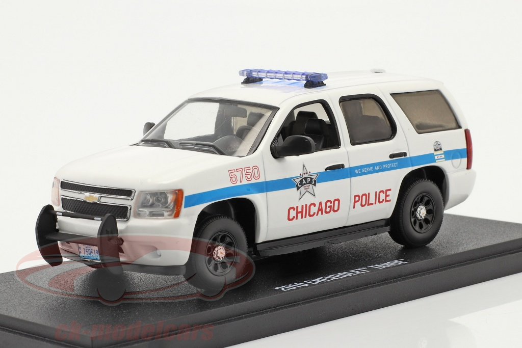 greenlight-1-43-chevrolet-tahoe-chicago-het-beleid-2010-wit-86183/