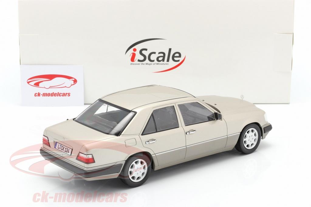 ORIGINAL MODEL,1:18 IScale Mercedes Benz E CLASS,SEDAN SPORTS,SILVER