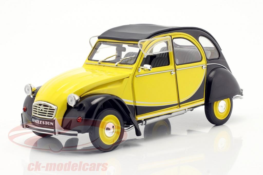 solido-1-18-citroen-2cv6-charleston-bouwjaar-1982-geel-zwart-s1805015/