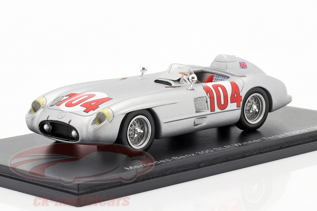spark-1-43-mercedes-benz-300-slr-no104-vincitore-targa-florio-1955-moss-collins-43tf55/
