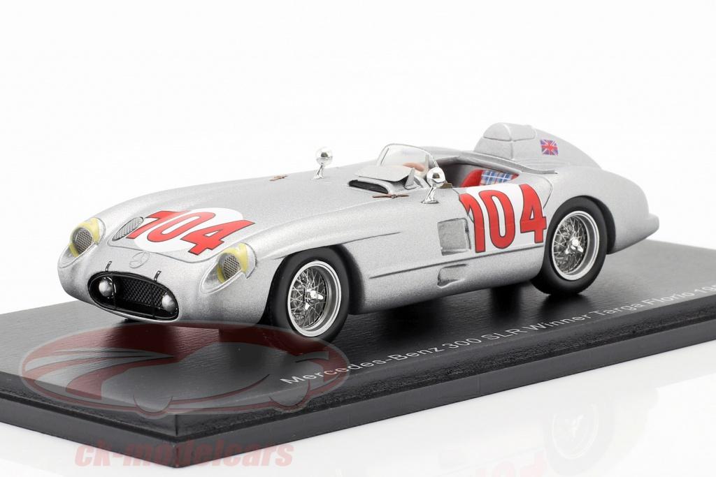 spark-1-43-mercedes-benz-300-slr-no104-vinder-targa-florio-1955-moss-collins-43tf55/