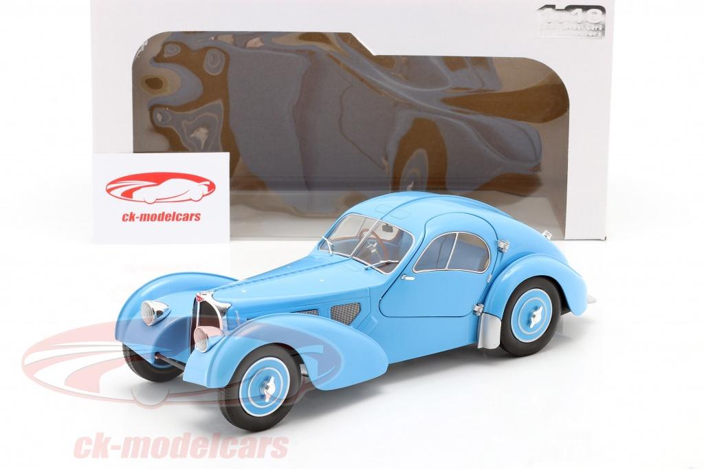 Solido 1 18 Bugatti Type 57 Sc Atlantic Year 1938 Light Blue S1802104 Model Car S1802104 421185860 3663506011221