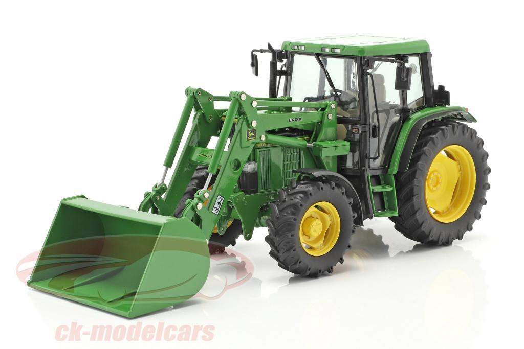 schuco-1-32-john-deere-6300-traktor-med-frontlsser-bygger-1992-97-grn-450773300/