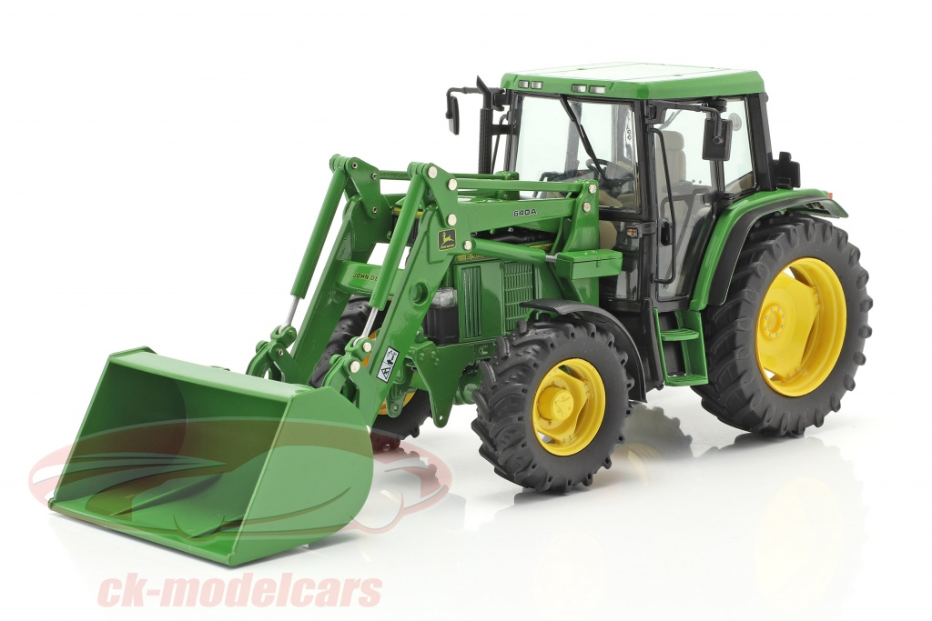schuco-1-32-john-deere-6300-trattore-con-caricatore-frontale-anno-di-costruzione-1992-97-verde-450773300/