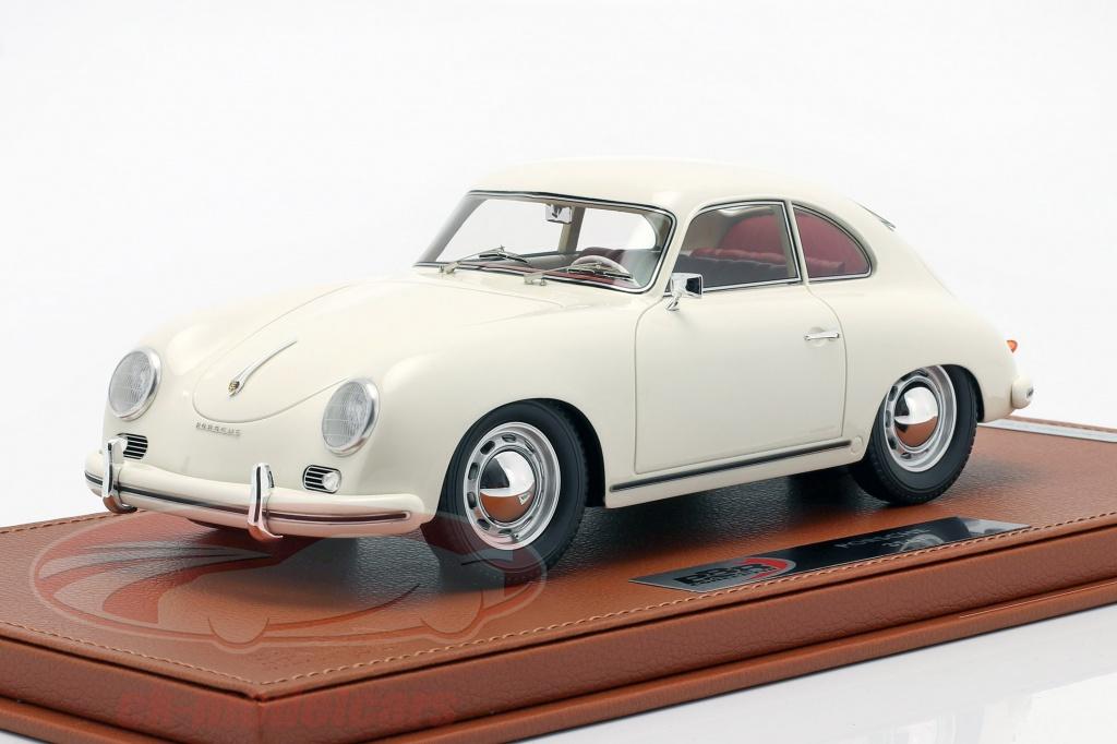 bbr-models-1-18-porsche-356a-bygger-1955-hvid-med-udstillingsvindue-bbrc1820dv/