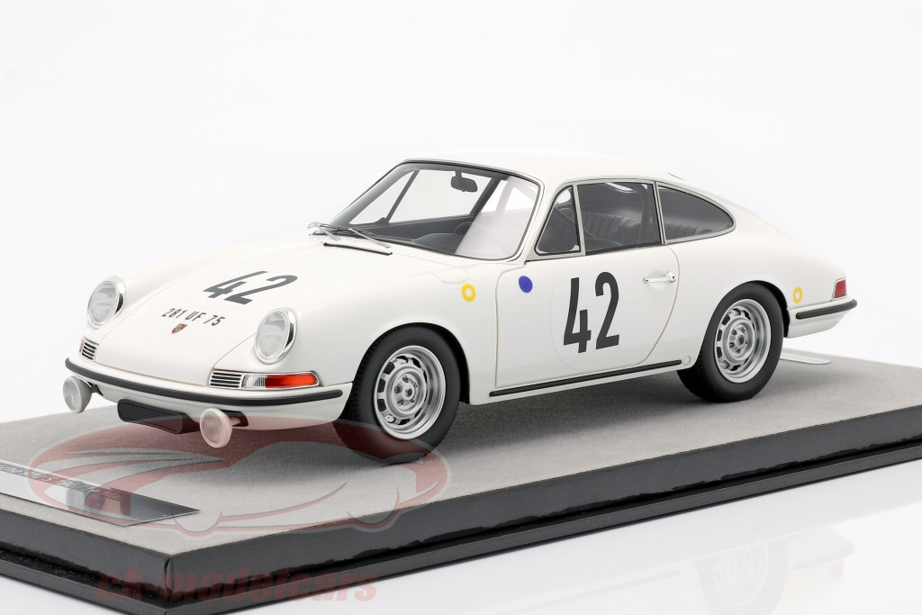 tecnomodel-1-18-porsche-911-s-no42-klasse-winnaar-24h-lemans-1967-buchet-linge-tm18-146a/