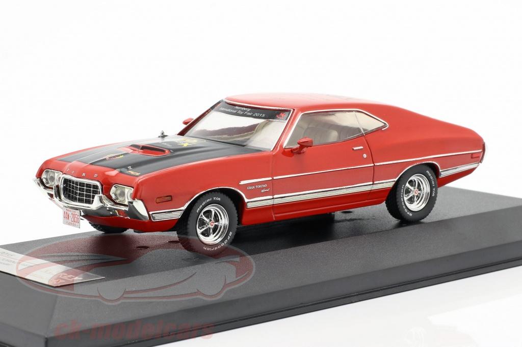 premium-x-1-43-ford-gran-torino-anno-di-costruzione-1972-rosso-fiera-del-giocattolo-norimberga-2015-prd2015/