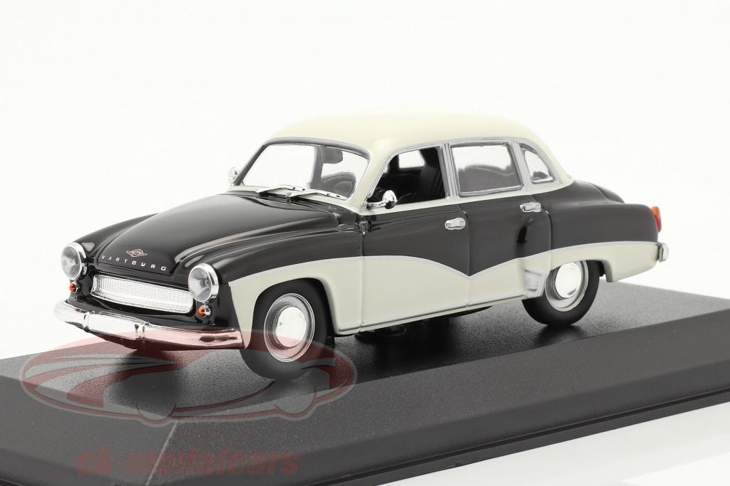 minichamps-1-43-wartburg-311-r-1959-sort-hvid-940015901/
