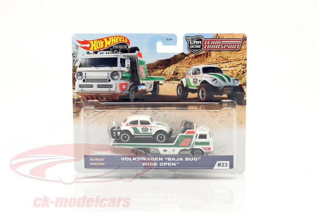 hotwheels-1-64-set-team-transport-volkswagen-vw-baja-bug-wide-open-gjt44-no23-flf56/