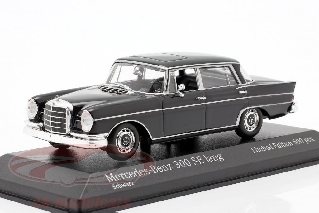 minichamps-1-43-mercedes-benz-300-se-lungo-w112-heckflosse-anno-di-costruzione-1963-nero-943035203/