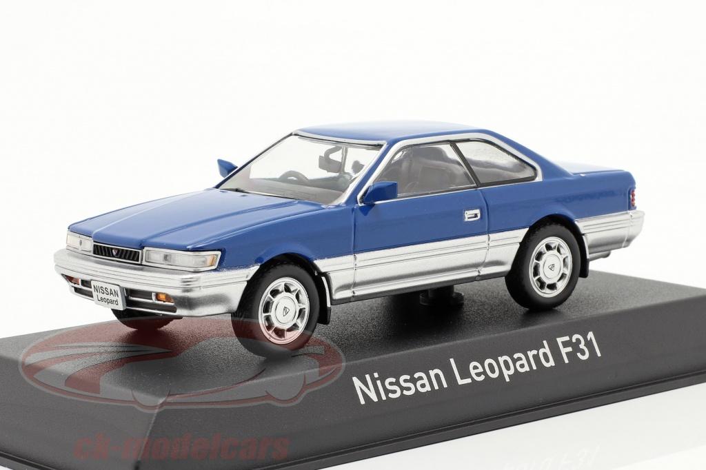 norev-1-43-nissan-leopard-f31-baujahr-1986-blau-silber-metallic-420179/