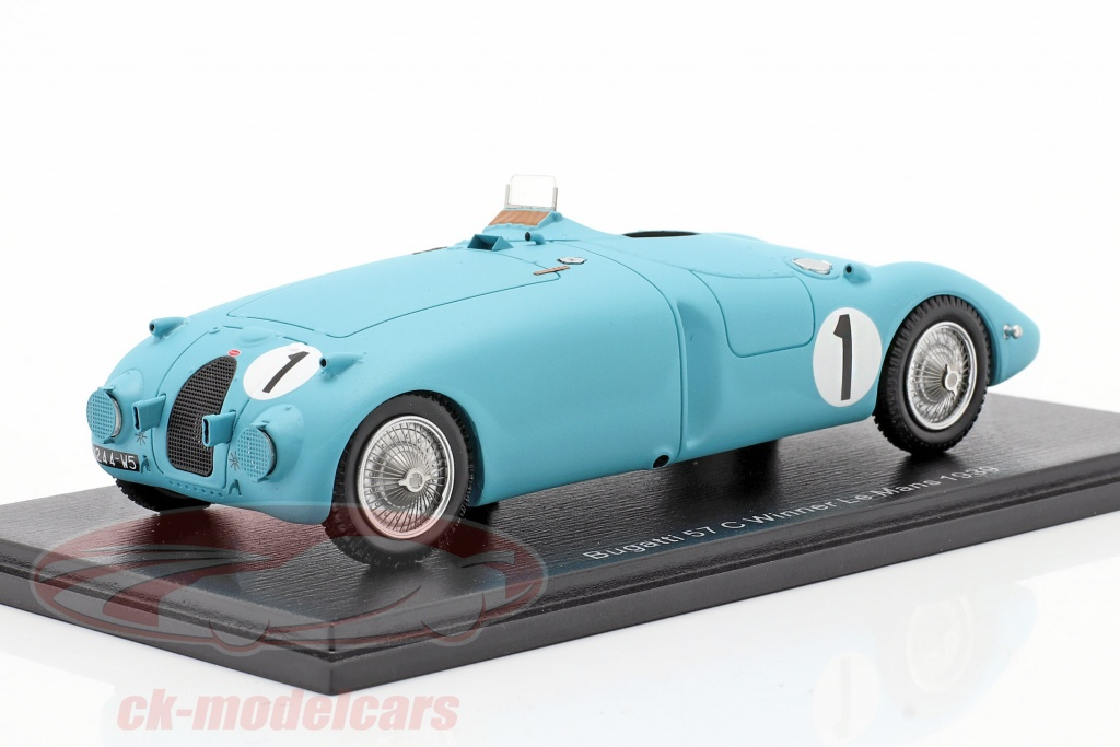 spark-1-43-bugatti-type-57c-no1-vinder-24h-lemans-1939-wimille-veyron-43lm39/