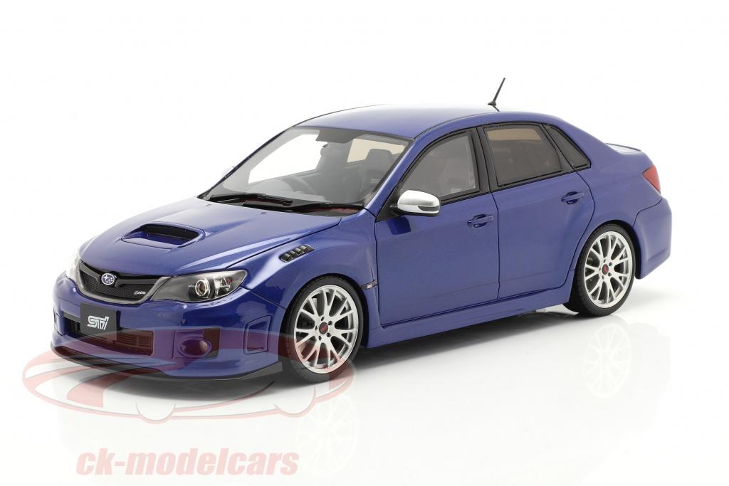 ottomobile-1-18-subaru-impreza-wrx-sti-anno-di-costruzione-2011-mica-blu-ot851/