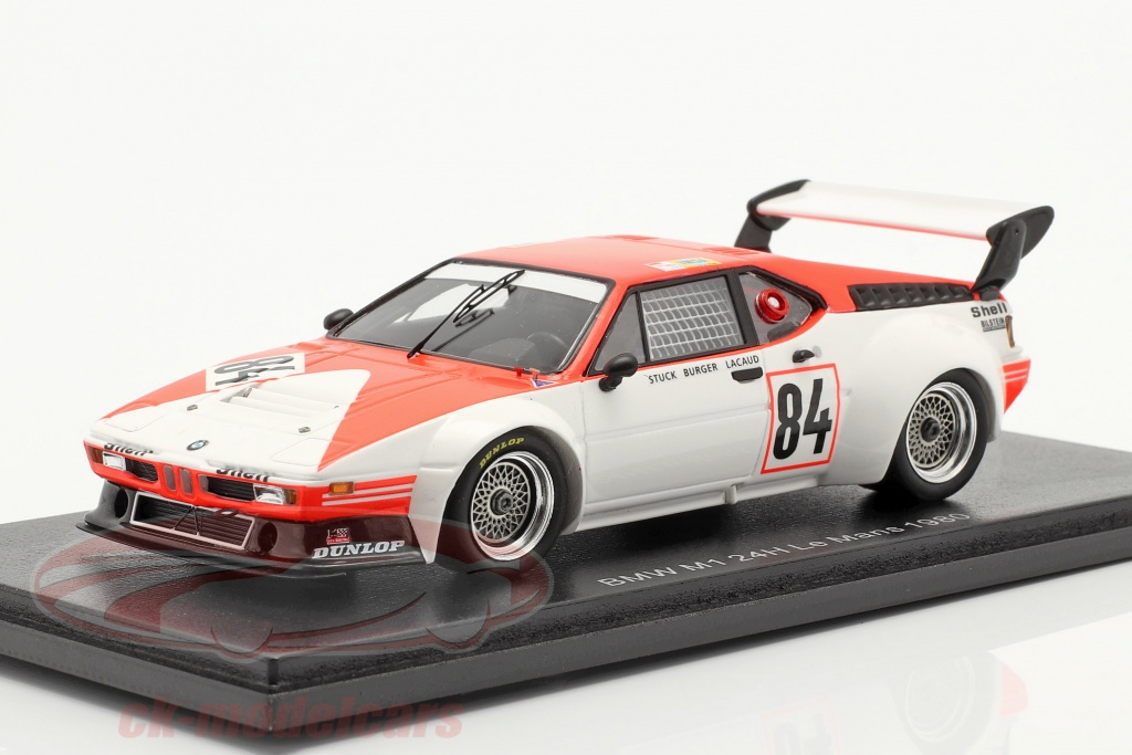 spark-1-43-bmw-m1-no84-24h-lemans-1980-stuck-lacaud-buerger-s6403/
