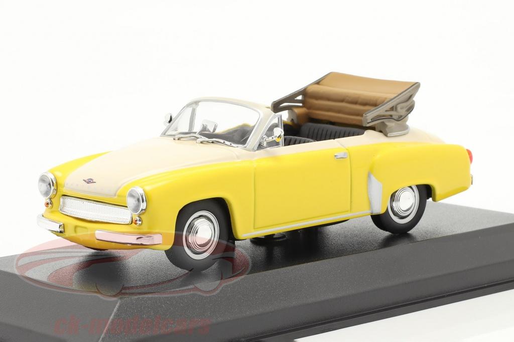 minichamps-1-43-wartburg-311-cabriolet-jaar-1958-geel-wit-940015931/