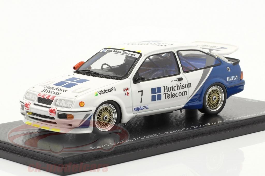 spark-1-43-ford-sierra-rs500-cosworth-no7-2nd-macau-guia-race-1989-rouse-sa193/