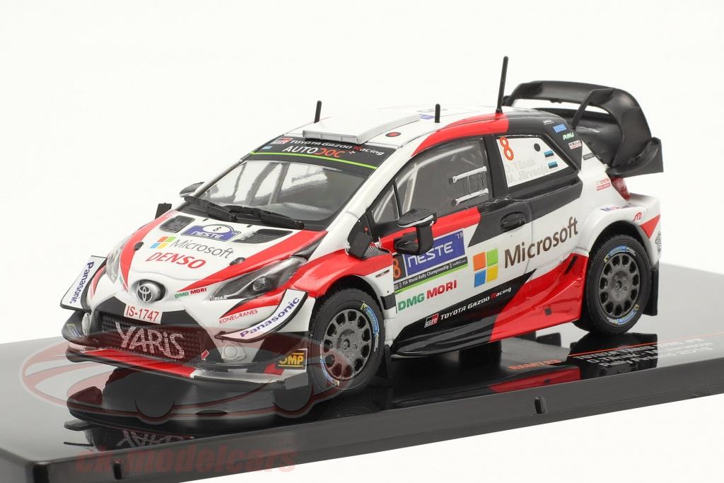 ixo-1-43-toyota-yaris-wrc-no8-ganador-rallye-finlandia-campeon-mundial-2019-taenak-jaerveoja-ram723/