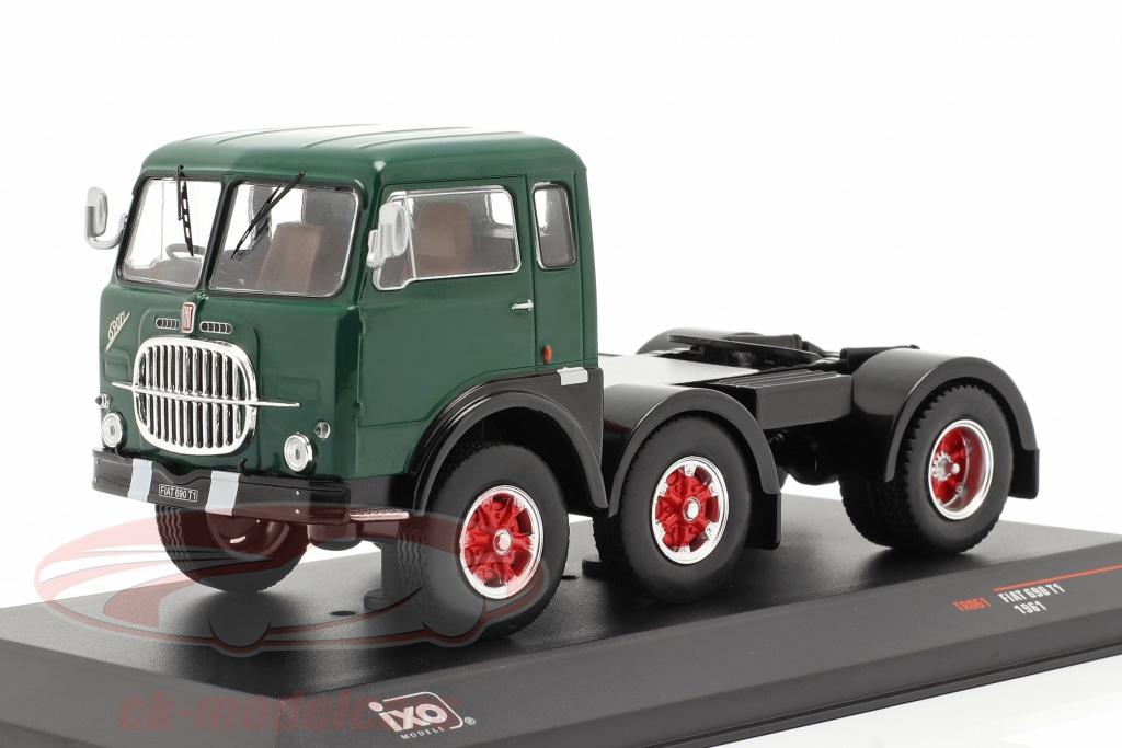ixo-1-43-fiat-690-t1-vrachtauto-bouwjaar-1961-groen-zwart-tr061/