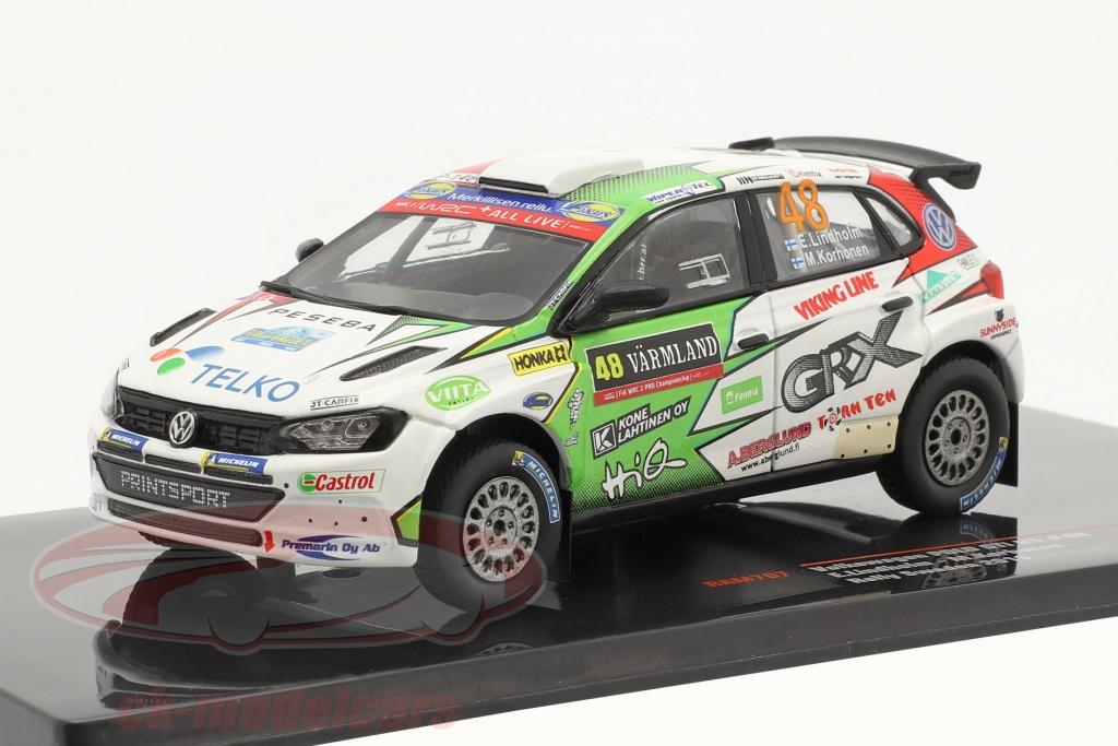 ixo-1-43-volkswagen-vw-polo-gti-r5-no48-rallye-schweden-2019-lindholm-korhonen-ram707/