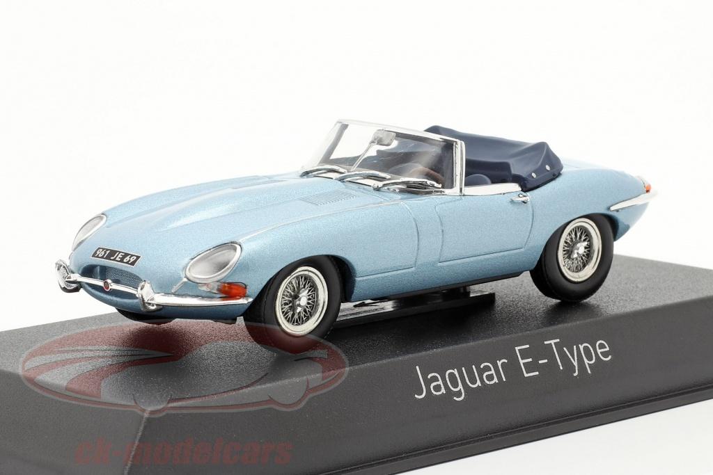 norev-1-43-jaguar-e-type-cabriolet-year-1961-light-blue-metallic-270064/