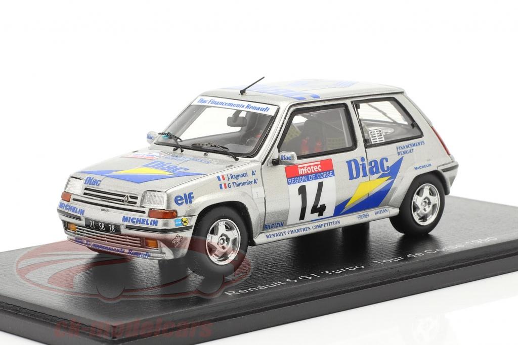 spark-1-43-renault-5-gt-turbo-no14-rallye-tour-de-corse-1990-ragnotti-thimonier-s5556/