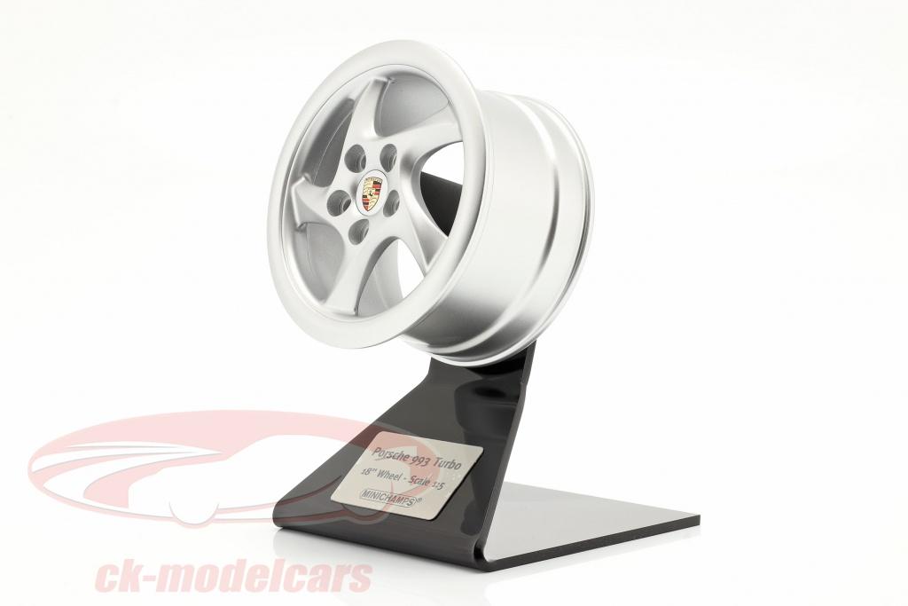 minichamps-1-5-porsche-911-993-turbo-1995-ruota-cerchio-18-inch-argento-500601993/